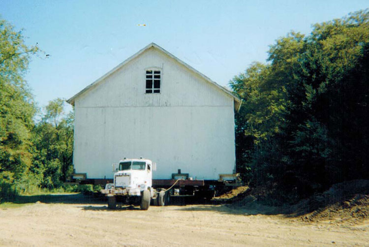 Barn moving and jacking